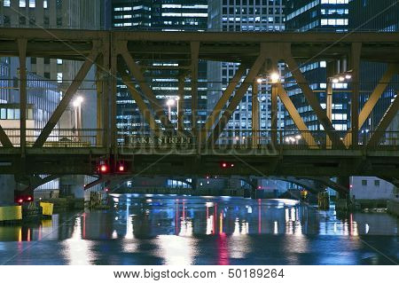 Lake Street Bridge Chicago