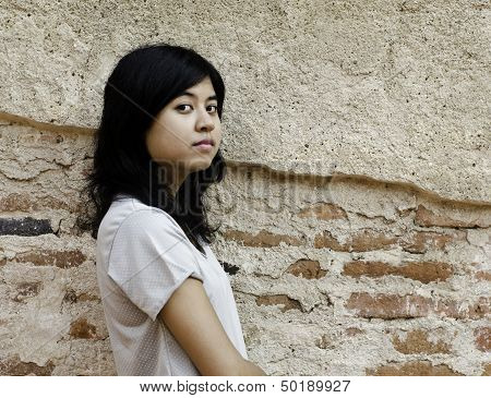 Proud Asian Woman Looking At You