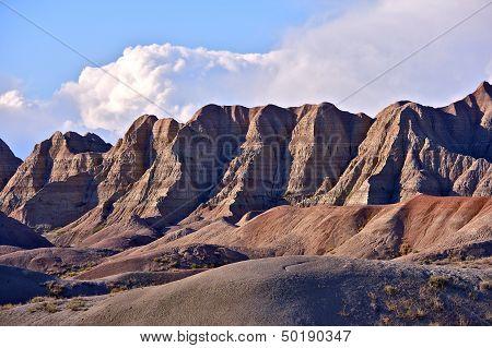 Badlands Sandy Peaks
