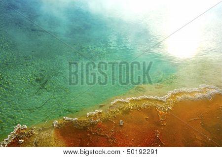 Geyser Pool Closeup