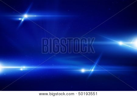 Blue Laser Background
