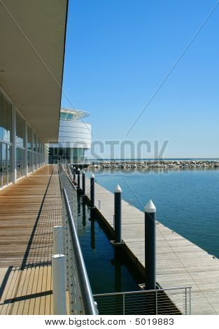 Waterfront Apartment Scene