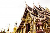 stock photo of raja  - Wat Raja Mon Thian  - JPG