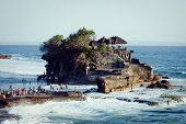 Tanah Lot Temple in Bali Island Indonesia