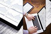 stock photo of stock market crash  - Stock Market Analysis  - JPG