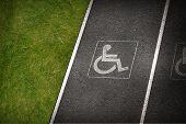 Постер, плакат: Handicap Parking Spot