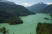 Постер, плакат: North Cascades Diablo Lake