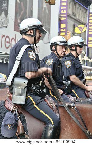 Broadway Policemen