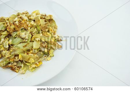 Chayote Sliced Fried