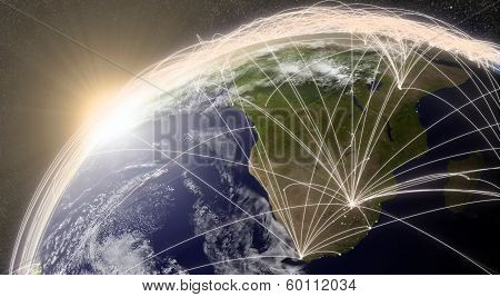 Network Over South Africa