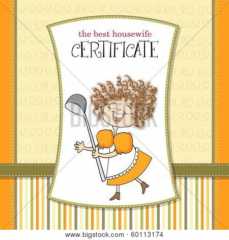 The Best Wifehouse Certificate