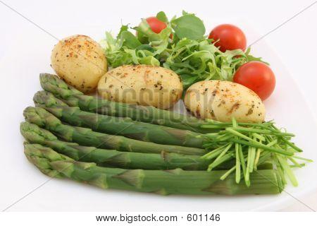 Comida de dieta de pérdida de peso saludable
