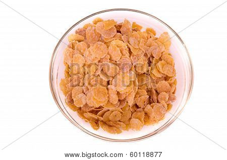 cereal breakfast on a bowl