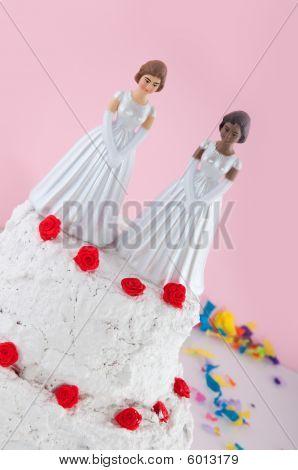Lesbian Wedding Couple