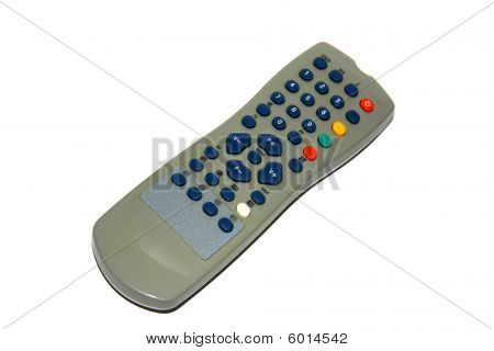 Remote Controller, Isolated On White Background
