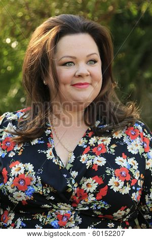 PALM SPRINGS, CA - JAN 5: Melissa McCarthy at the 10 Directors to Watch brunch at The Parker Hotel on January 5, 2014 in Palm Springs, California
