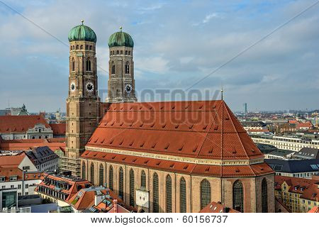 Cathedral Frauenkirche In Munich, Bavaria