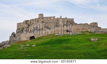 Spis Castle in Slovakia, Europe