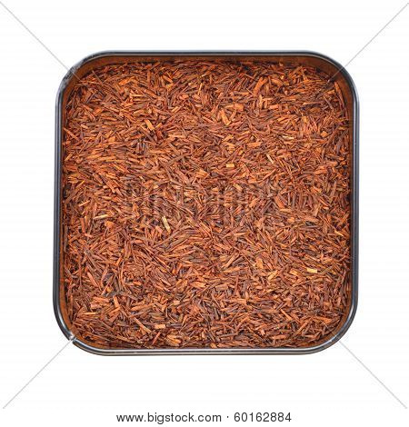 Natural Organic Rooibos In A Tin.
