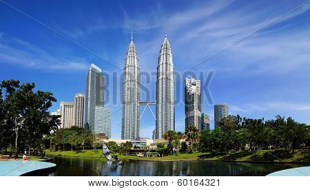 Petronas Towers.