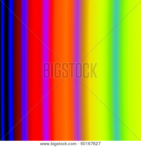Background of vertical color bands