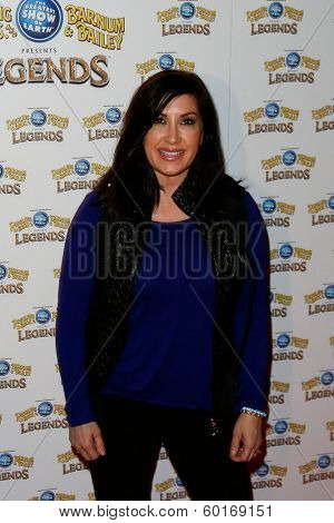 NEW YORK-FEB 20: Reality star Jacqueline Laurita attends Ringling Bros. and Barnum & Bailey presents 'Legends' at Barclays Center on February 20, 2014 in Brooklyn, NY.