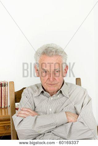 Angry Senior Man