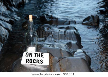 Bottle On The Rocks