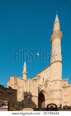 Selimiye Mosque in Nicosia, formerly Cathedral Saint Sophie.Nicosia, Northern Cyprus