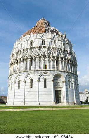 Baptistery Pisa