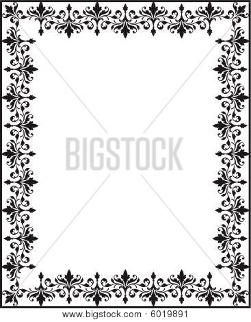 Repeating Scrollwork Border