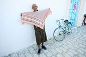 An Old Muslim Man In Kairouan
