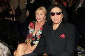BEVERLY HILLS - FEB 16: Shannon Tweed, Gene Simmons performs in concert at the Saban Theater on Febr