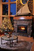 Christmas Livingroom poster