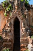 Guardians In Ancient Burmese Buddhist Pagodas