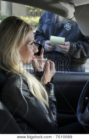 Unaware Distracted Driver