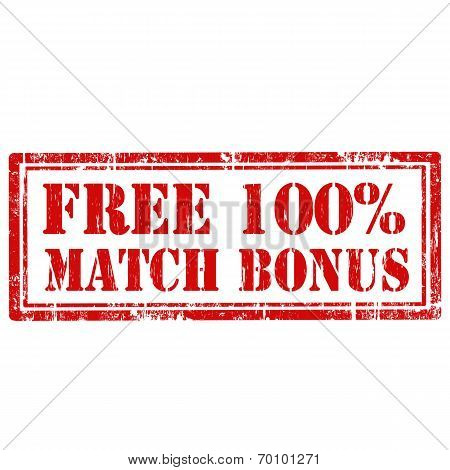 Free 100% Match Bonus-stamp