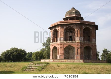 Sher Mandal of Purana Qila (Old Fort), New Delhi