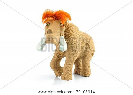 Ellie Female Woolly Mammoth Toy Character