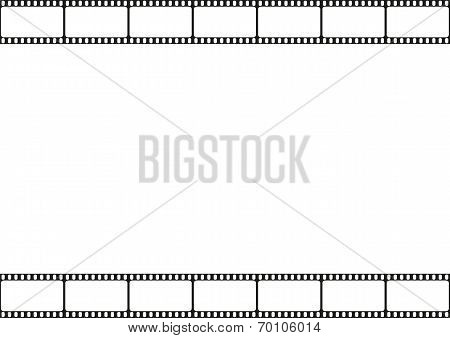 Film strip seamless pattern