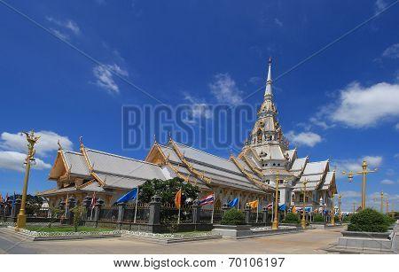 Wat SothonWararam is a temple in Thailand