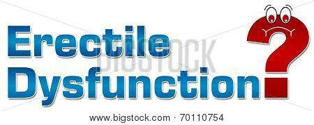 Erectile Dysfunction Concept
