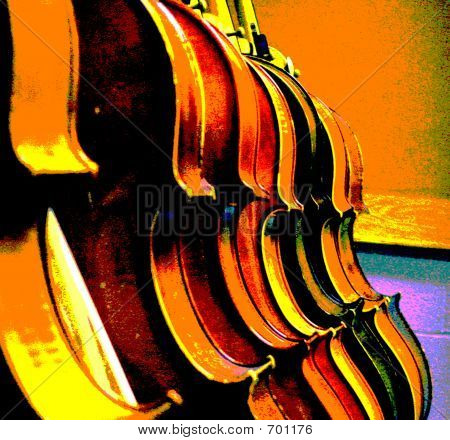 Line Of Cellos