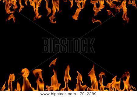 Resumen de llama de fuego, aislado