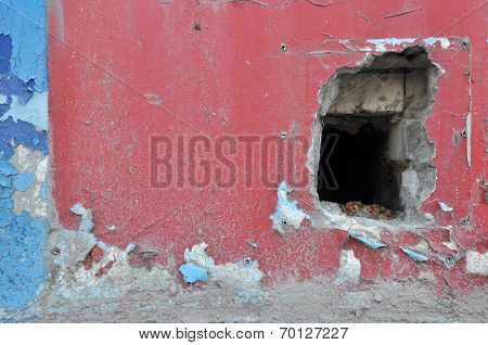 Hole In The Neglected Wall