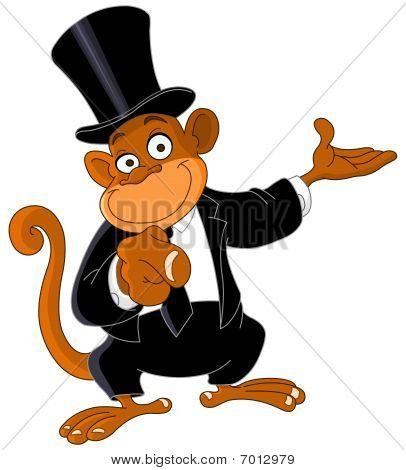 Pointing Monkey