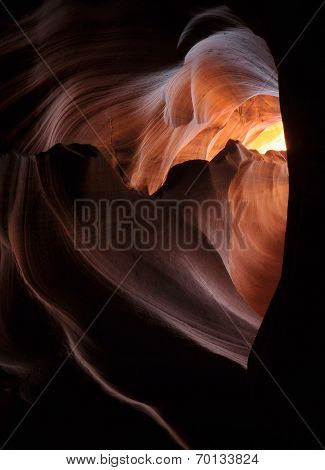 Heart in Antelope Canyon