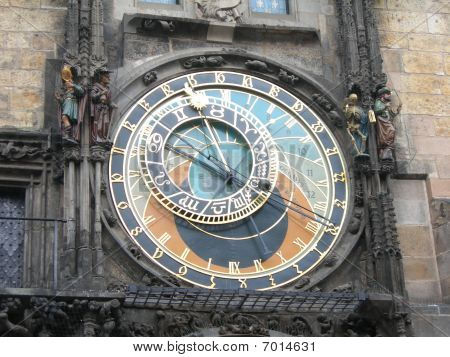 Prague Astronomical Clock Or Prague Orloj