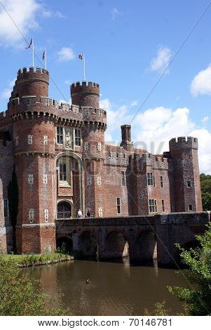 Herstmonceux Castle, East Sussex, Uk