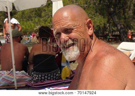 A bald englishman